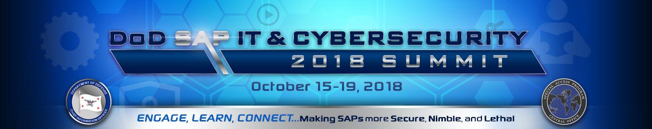 2018 DoD SAP IT & Cybersecurity Summit