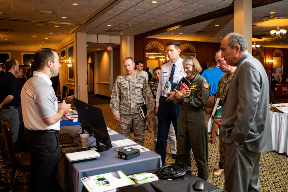 National Conference Services, Inc. (NCSI) tradeshow at Offutt Air Force Base in Omaha, Nebraska.